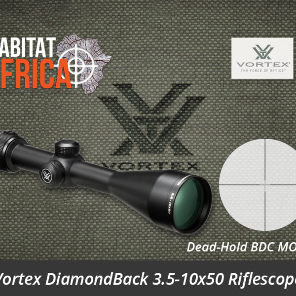Vortex DiamondBack 3.5-10x50 Riflescope Dead-Hold BDC MOA Reticle - Habitat Africa | Gun Shop | South Africa