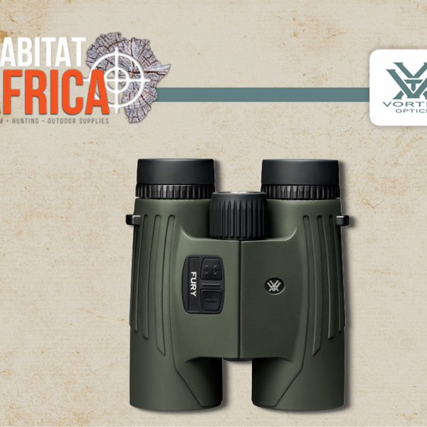 Vortex Fury HD 10x42 Laser Rangefinder Binocular Focus Wheel - Habitat Africa | Gun Shop | South Africa