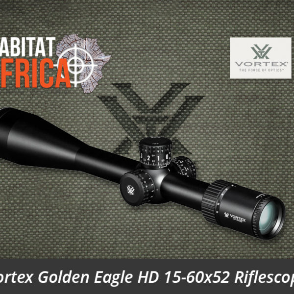 Vortex Golden Eagle HD 15-60x52 Riflescope Lense - Habitat Africa | Gun Shop | South Africa
