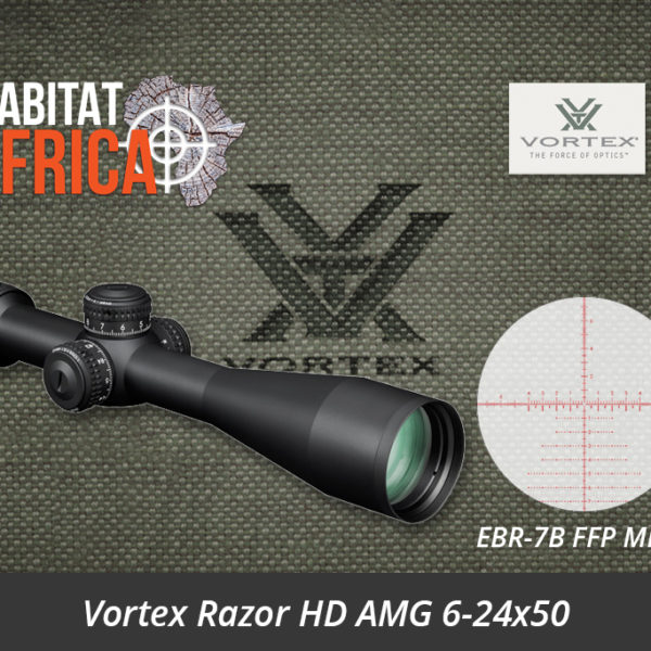 Vortex Razor HD AMG 6-24x50 Riflescope EBR-7B FFP MRAD Reticle - Habitat Africa | Gun Shop | South Africa