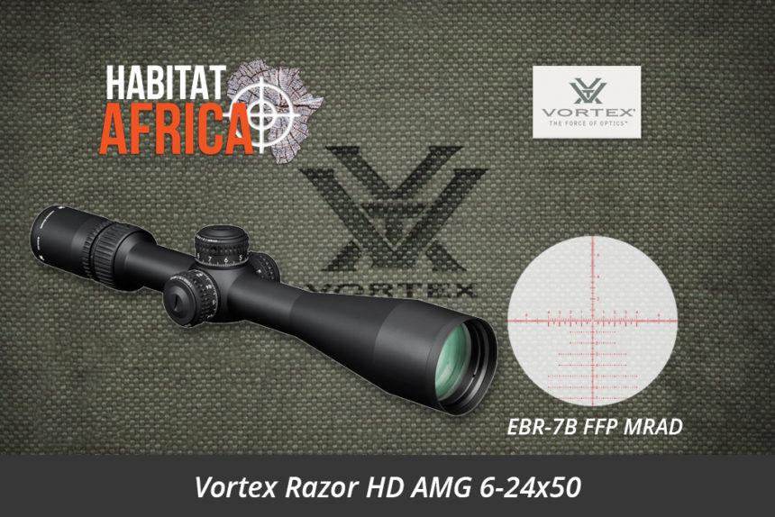 Vortex Razor HD AMG 6-24x50 Riflescope EBR-7B FFP MRAD Reticle - Habitat Africa | Gun Shop | South Africa