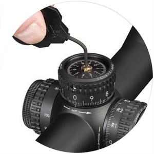 Vortex Razor HD AMG Riflescope L-TEC Zero Stop Turret Mechanism