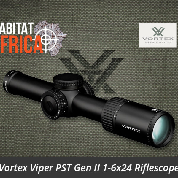 Vortex Viper PST Gen II 1-6x24 Riflescope VMR-2 MOA Reticle Lense - Habitat Africa | Gun Shop | South Africa