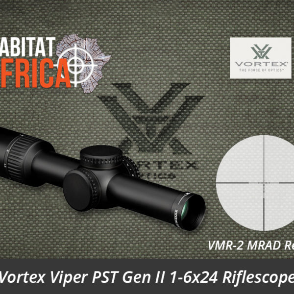 Vortex Viper PST Gen II 1-6x24 Riflescope VMR-2 MRAD Reticle - Habitat Africa | Gun Shop | South Africa