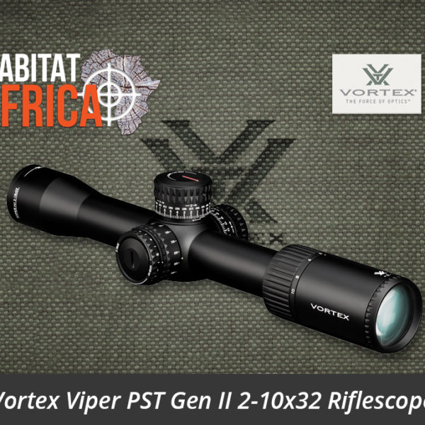 Vortex Viper PST Gen II 2-10x32 Riflescope - Habitat Africa | Gun Shop | South Africa