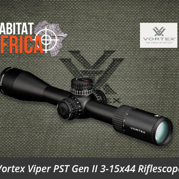 Vortex Viper PST Gen II 3-15x44 Riflescope - Habitat Africa | Gun Shop | South Africa