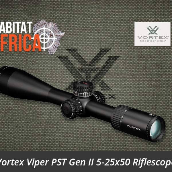 Vortex Viper PST Gen II 5-25x50 Riflescope - Habitat Africa | Gun Shop | South Africa