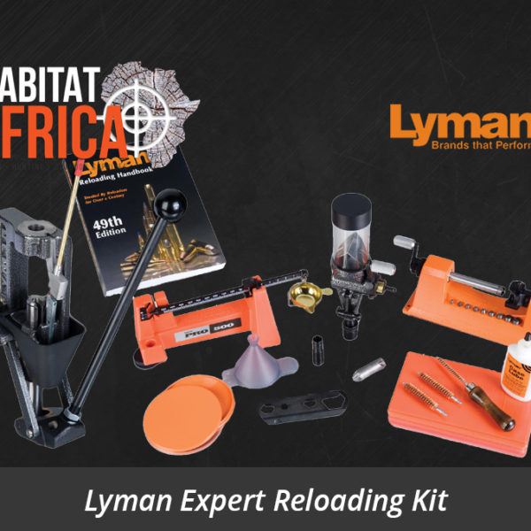 Lyman Expert Reloading Kit Crusher Press - Habitat Africa | Reloading Equipment & Presses | South Africa