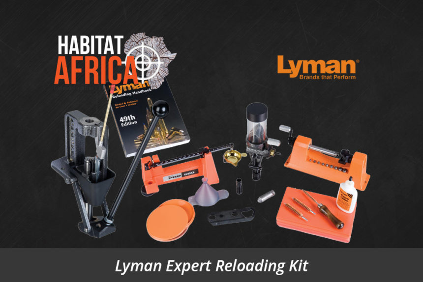 Lyman Expert Reloading Kit Crusher Press