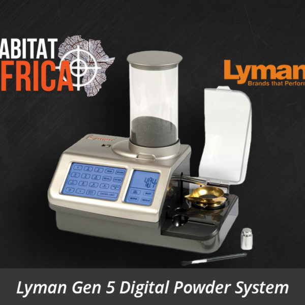 Lyman Gen 5 Digital Powder System - Habitat Africa | Reloading Equipment | South Africa
