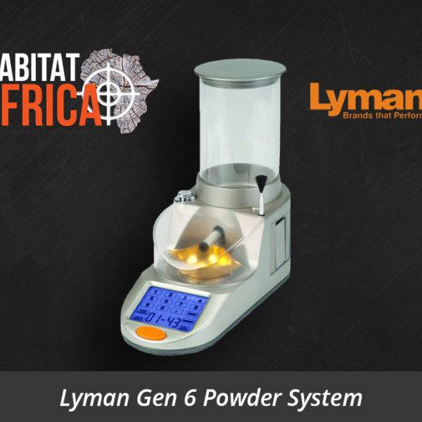 Lyman Gen 6 Compact Touch Screen Powder System - Habitat Africa | Reloading Equipment | South Africa