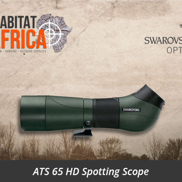 Swarovski ATS 65 HD Spotting Scope Angled Body - Habitat Africa | Gun Shop | South Africa