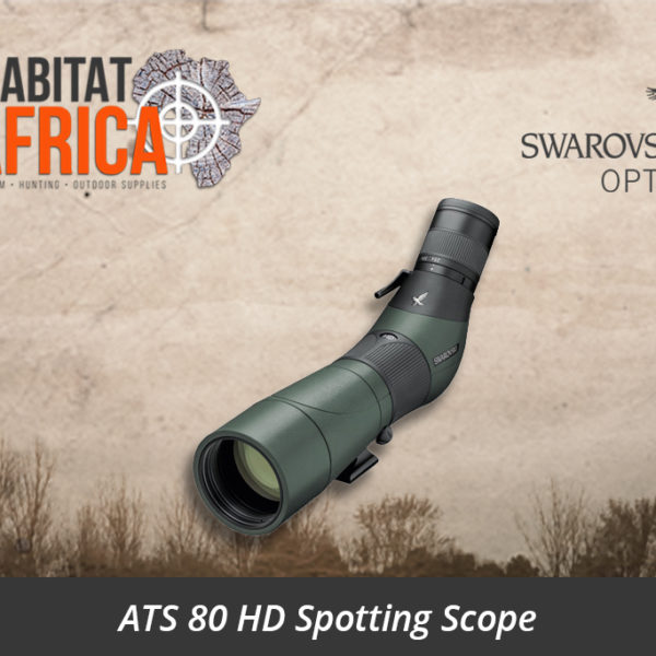 Swarovski ATS 80 HD Spotting Scope Angled Body - Habitat Africa | Gun Shop | South Africa