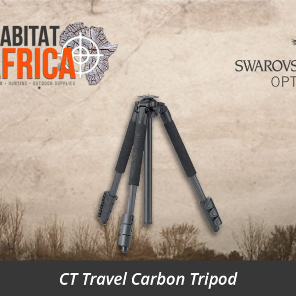 Swarovski CT Travel Carbon Tripod - Habitat Africa | Gun Shop | South Africa