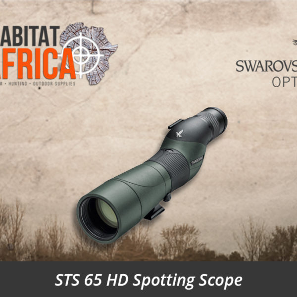 Swarovski STS 65 HD Spotting Scope Straight Body - Habitat Africa | Gun Shop | South Africa
