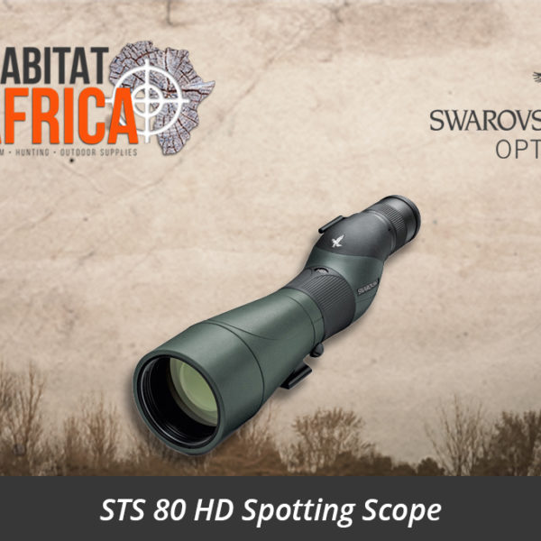 Swarovski STS 80 HD Spotting Scope Straight Body - Habitat Africa | Gun Shop | South Africa