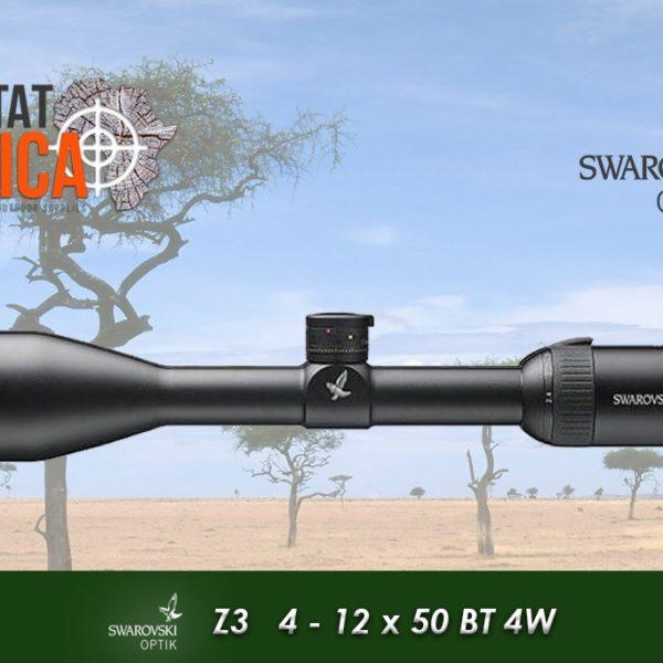 Z3 4-12x5- BT 4w Turret Habitat Africa