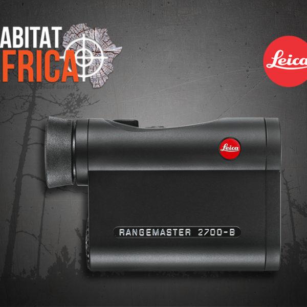 Leica Rangemaster CRF 2700-B Rangefinder Side - Habitat Africa | Gun Shop | South Africa