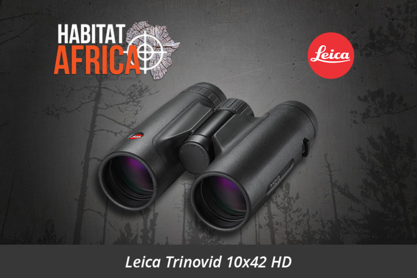 Leica Trinovid 10x42 HD Binoculars - Habitat Africa | Sport Optics | South Africa