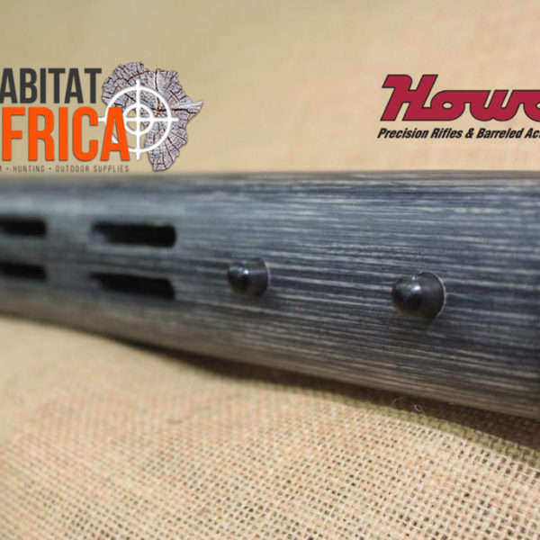 Howa EuroVarmint 20 inch Fluted in Pepper Laminate Stock Grip