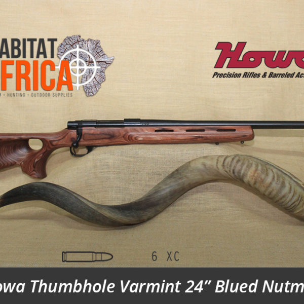 Howa Thumbhole Varmint 24 inch 6 XC Blued Nutmeg Laminate - Habitat Africa | Gun Shop | South Africa
