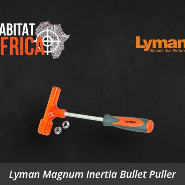 Lyman Magnum Inertia Bullet Puller - Habitat Africa | Reloading Equipment | South Africa