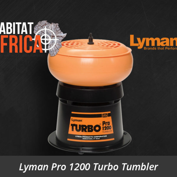 Lyman Pro 1200 Turbo Tumbler - Habitat Africa | Reloading Equipment | South Africa