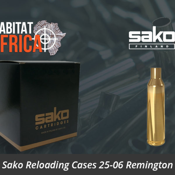 Sako Reloading Cases 25-06 Remington Brass