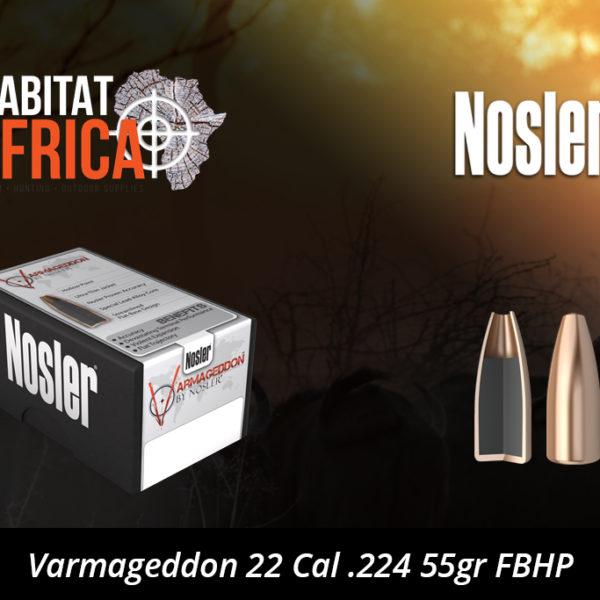 Nosler Varmageddon 22 Cal .224 55gr FBHP Bullets