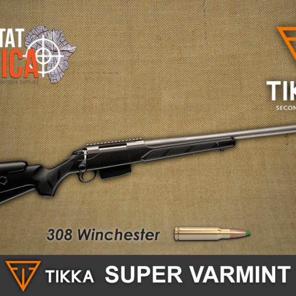 Tikka T3 308 Win Super Varmint Habitat Africa