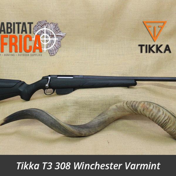 Tikka T3 308 Winchester Varmint Blued Rifle - Habitat Africa   Gun Shop   South Africa