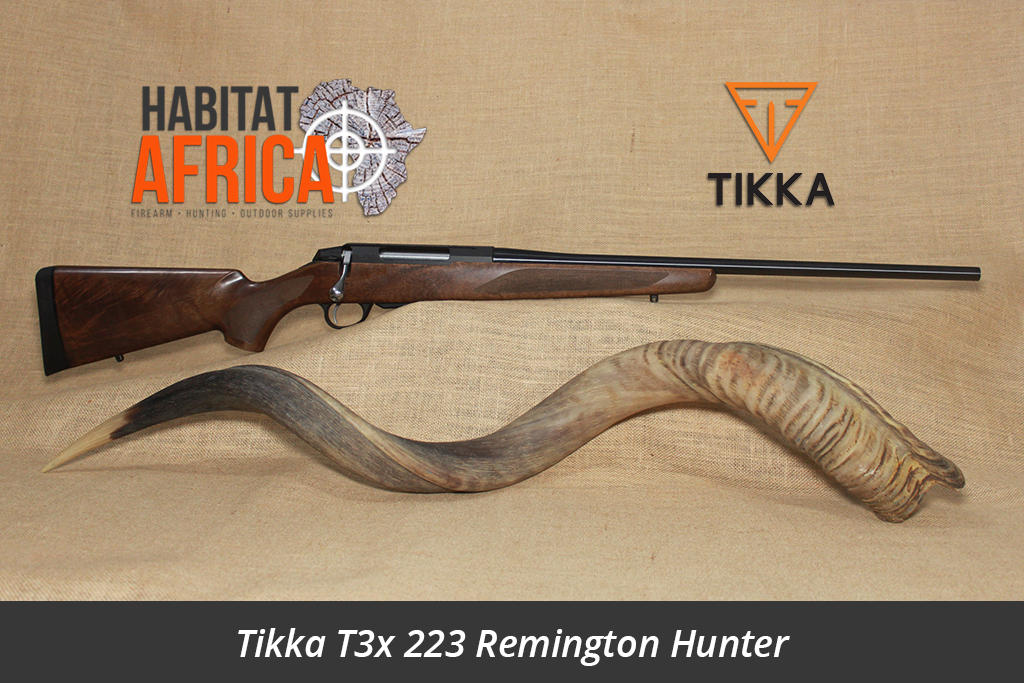 Tikka T3x 223 Remington Hunter