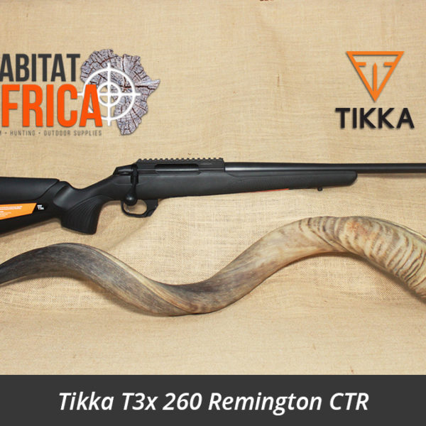 Tikka T3x 260 Remington Compact Tactical Rifle Tikka T3x CTR