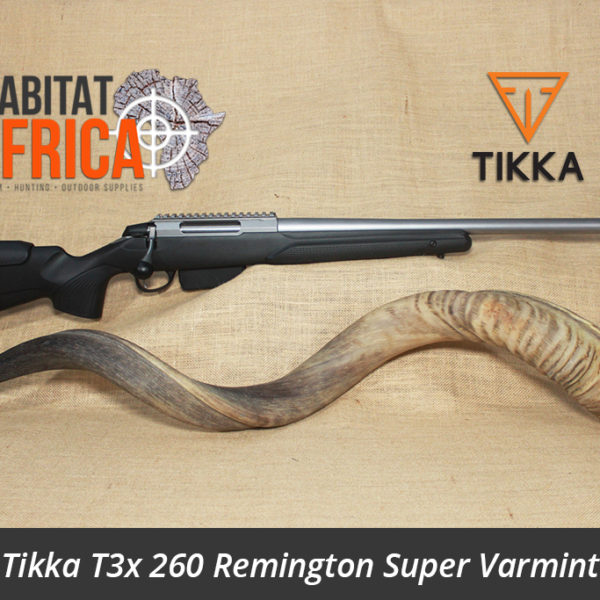 Tikka T3x 260 Remington Super Varmint