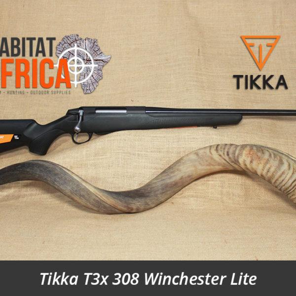 Tikka T3x 308 Winchester Lite Hunting Rifle