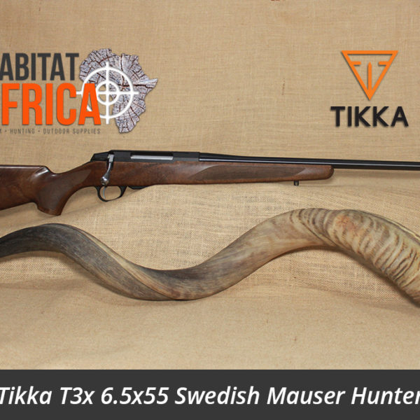 Tikka T3x 6.5x55 Swedish Mauser Hunter Rifle