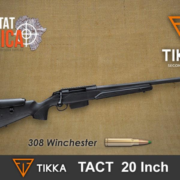 Tikka T3x Tact 308 Win habitat africa