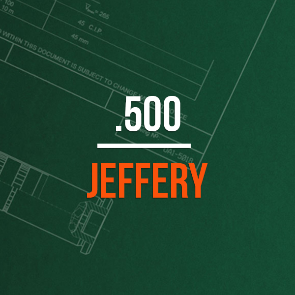 500 Jeffery Hunting Rifle Caliber