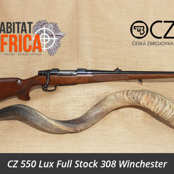 CZ 550 Lux Full Stock 308 Winchester Rifle