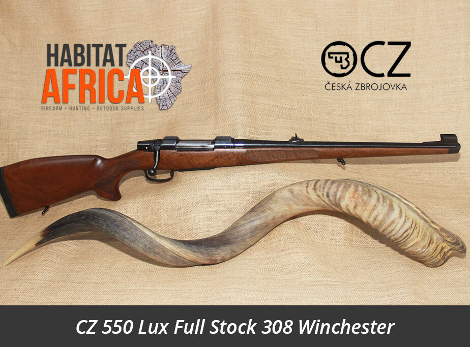 Cz 550 Lux Full Stock 308 Winchester Rifle Habitat