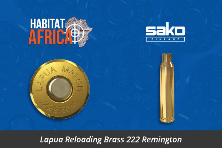 Lapua Reloading Brass 222 Remington