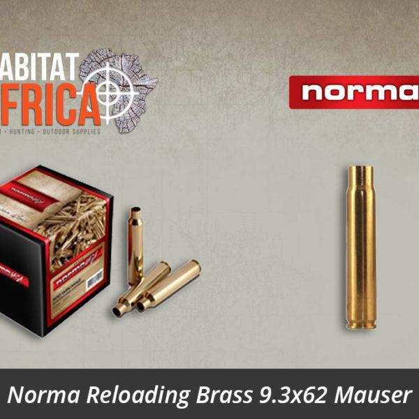 Norma Reloading Brass 9.3x62 Mauser Brass - Habitat Africa | Gun Shop | South Africa