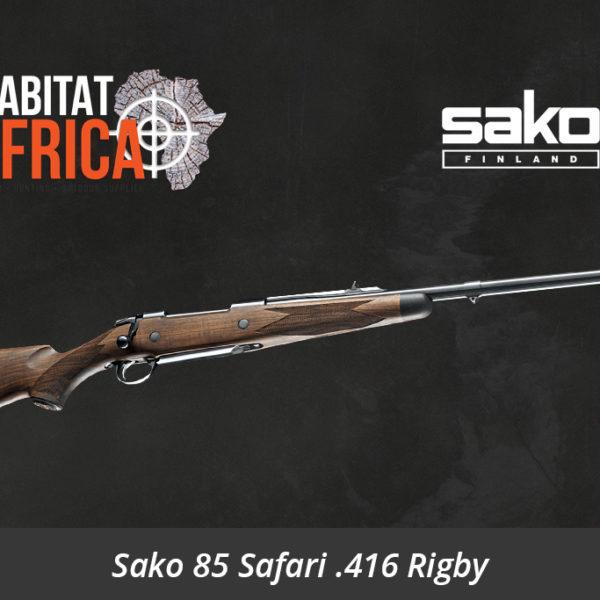 Sako 85 Safari 416 Rigby Rifle