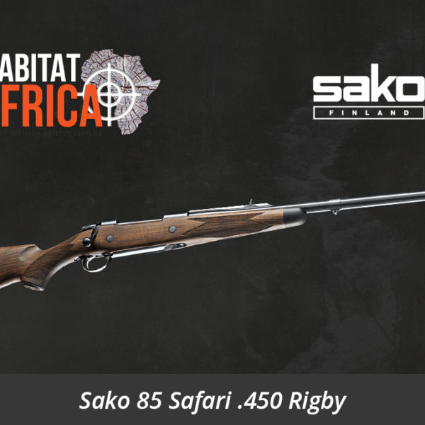 Sako 85 Safari 450 Rigby Rifle