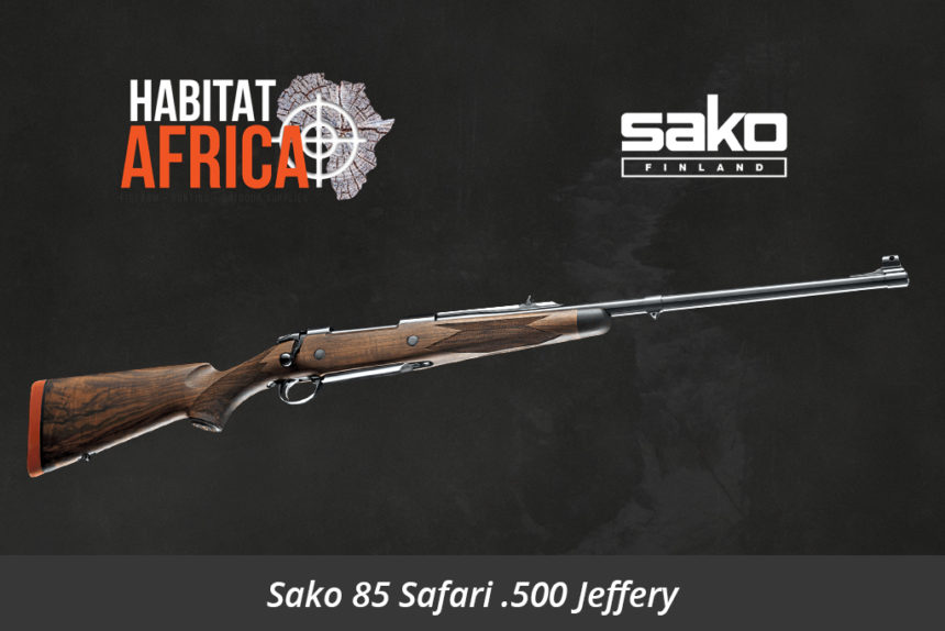 Sako 85 Safari 500 Jeffery Hunting Rifle