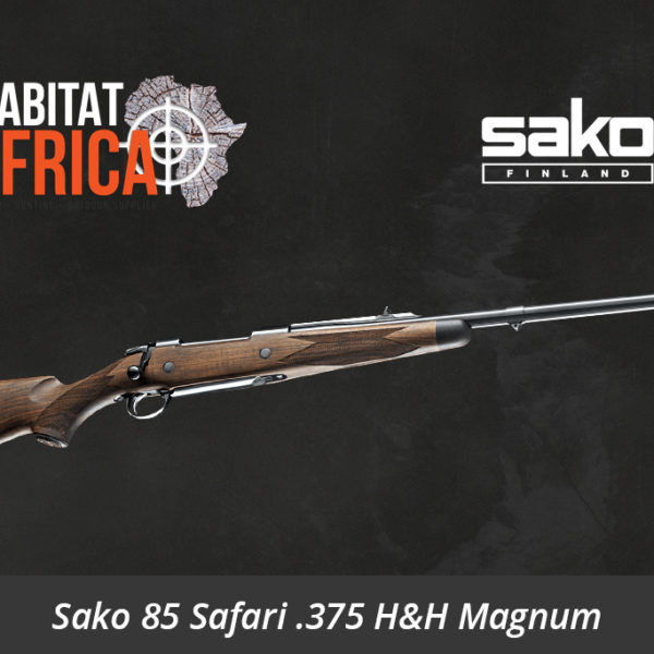 Sako 85 Safari 375 Holland & Holland Magnum Hunting Rifle