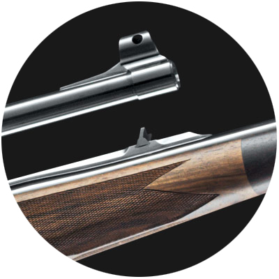 Sako 85 Safari Deluxe Hunting Rifle Sights