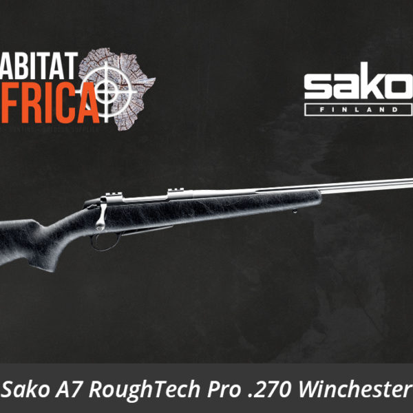 Sako A7 RoughTech Pro 270 Winchester Rifle