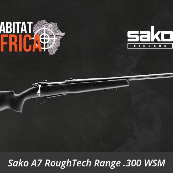 Sako A7 RoughTech Range 300 Winchester Short Magnum Rifle