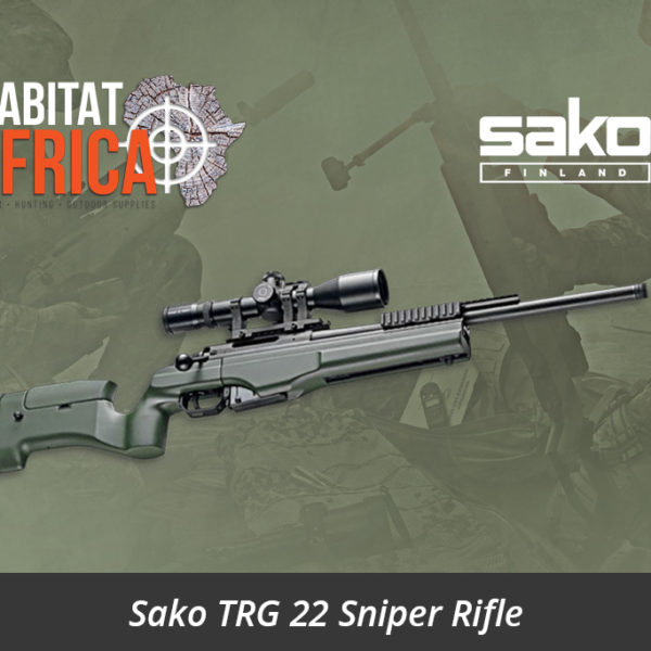 Sako TRG 22 Sniper Rifle Fixed Stock ITRS